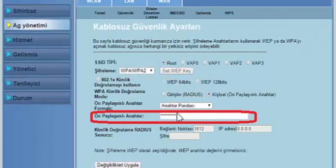 Asus Modem WiFi Şifre Değiştirme 1