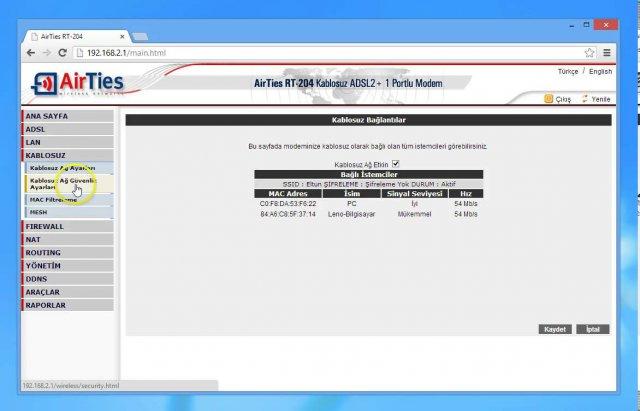 Ttnet Modem Wifi Şifre Değiştirme 2