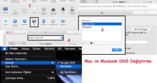 Mac ve Macbook DNS Değiştirme 1