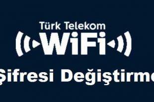 WiFi Şifre Değiştirme Türk Telekom
