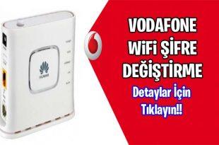 Wifi sifre degistirme Vodafone 192.168.1.1