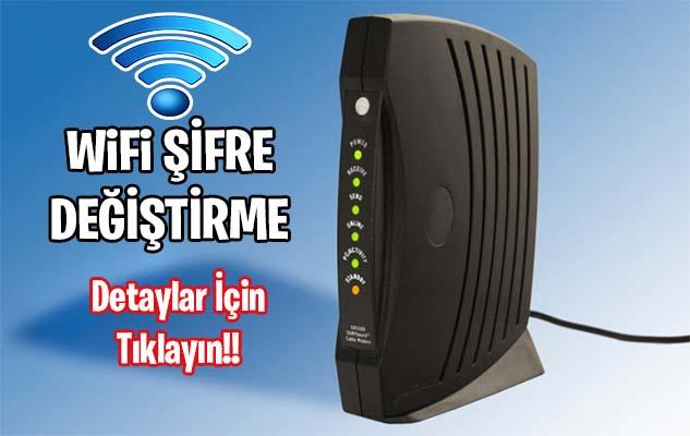 192.168.l.l Wifi Şifre Değiştirme