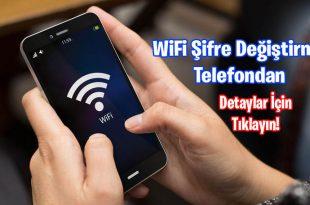 WiFi Şifre Değiştirme Telefondan