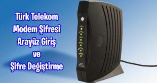 Türk Telekom Modem Şifresi