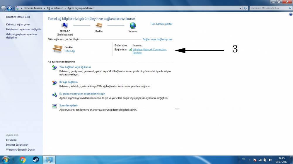Windows Wifi Şifre Unuttum!