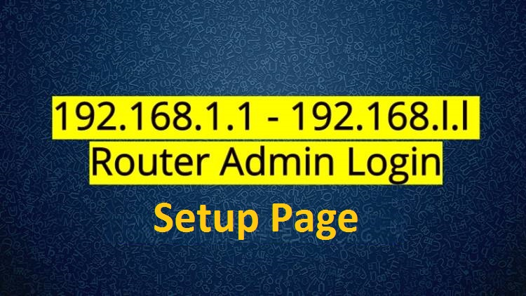 192.168.1.1 – 192.168.l.l ip address