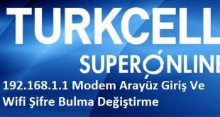 192.168.l.l superonline 1