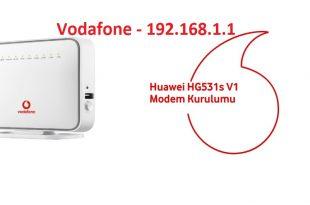 Huawei Vodafone Modem Arayüz Giriş Ve Kurulum