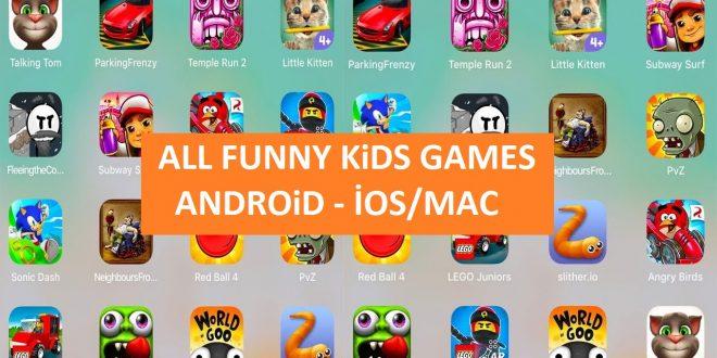 Çocuklar İçin En Güzel Video Oyunları: Tablet ve Telefon