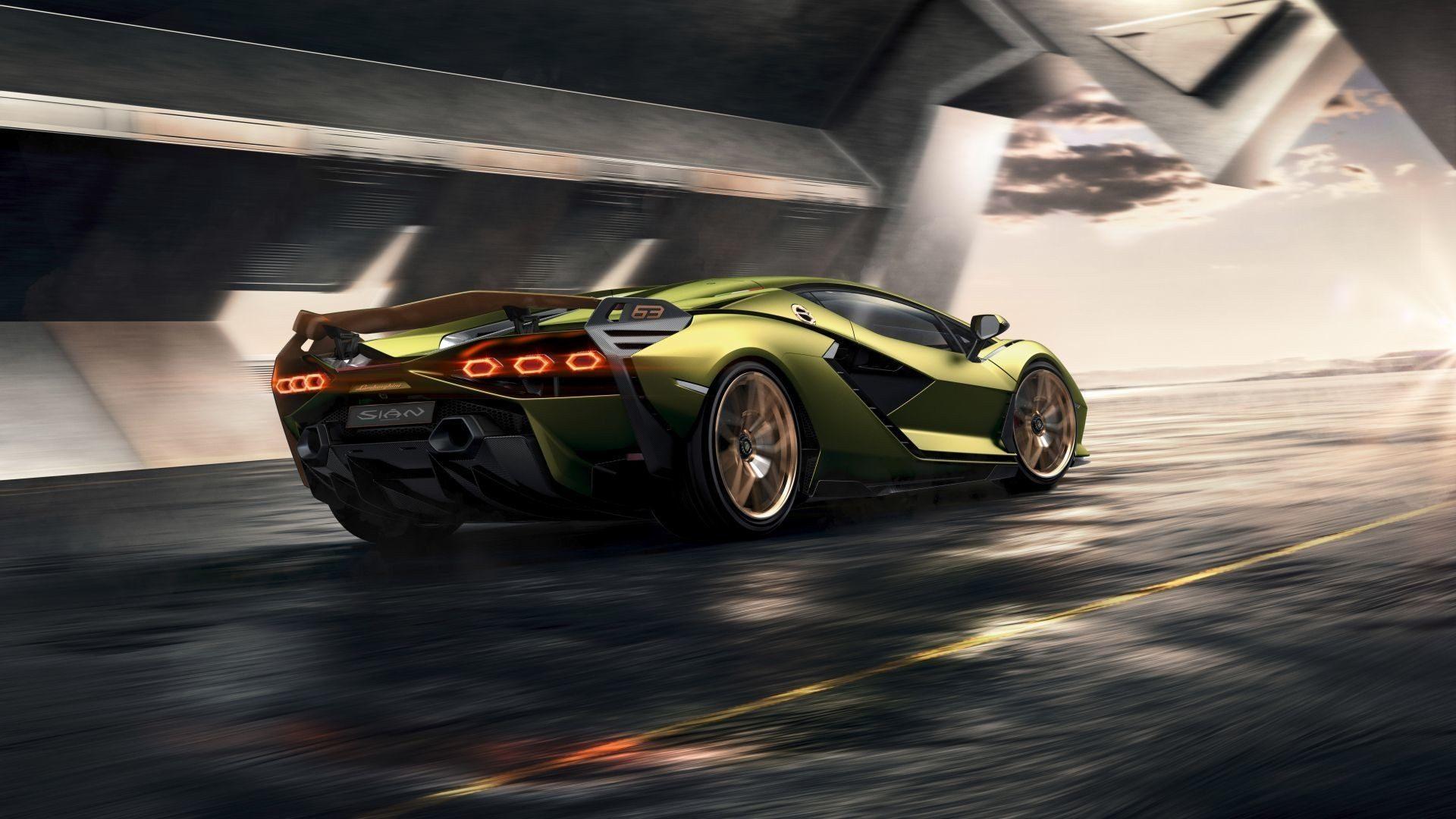 Lamborghini Sian 2020 Car UHD Wallpaper 1