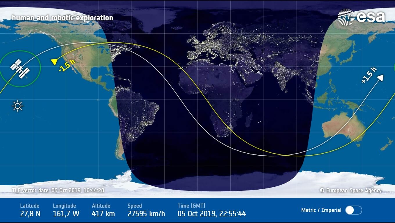ISS Tracker Live