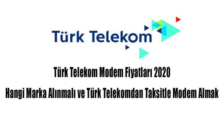 Türk Telekom Modem Fiyatları 2021