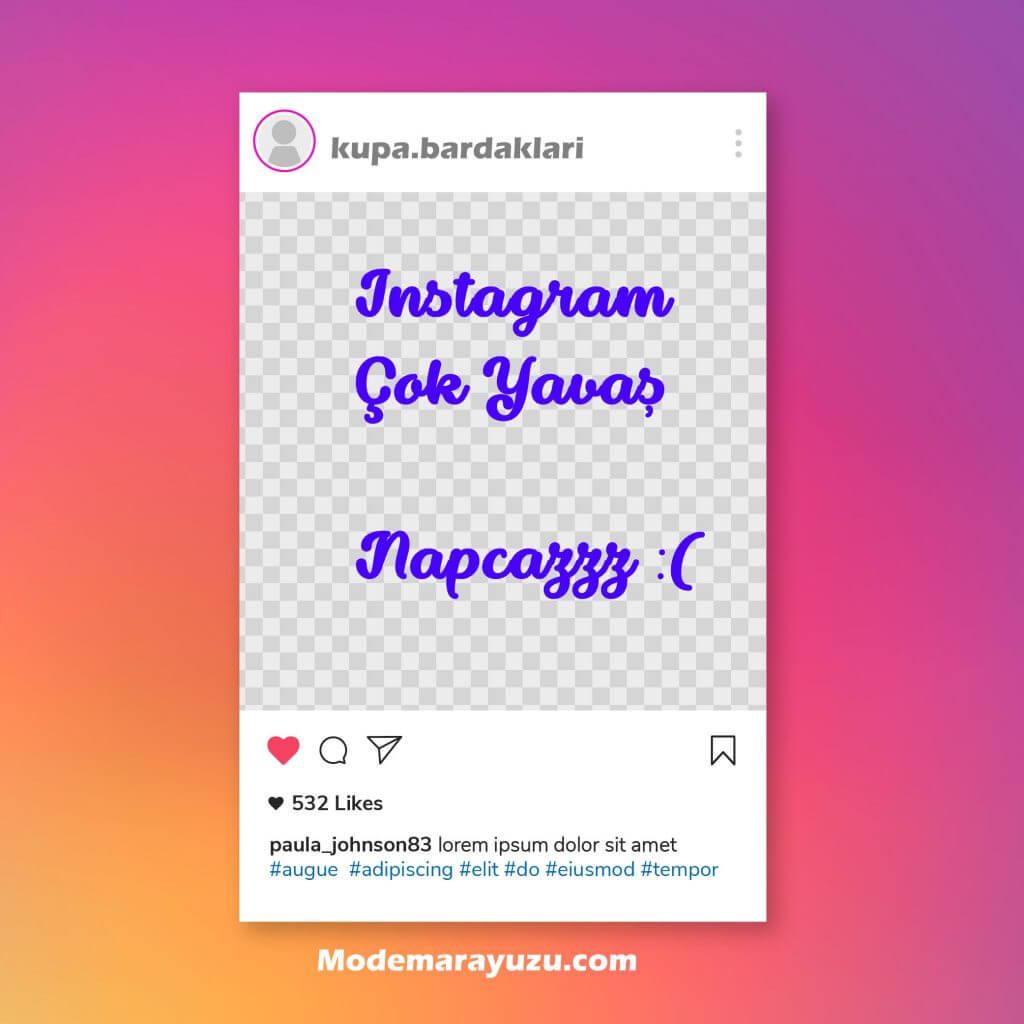 Instagram çok yavaş! Neden yavaş? Çözüm nedir? Cevap 2021